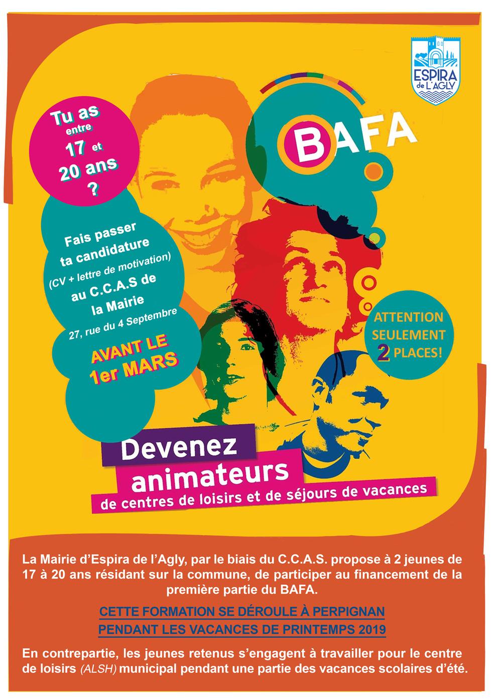 Site Officiel De La Commune Espira De L Agly Aide Au B A F A